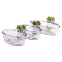 Dexas Set of Three Klip Kups - Green