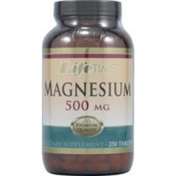 Magnesium 500 mg From Aspartate Oxide LifeTime 250 Tabs