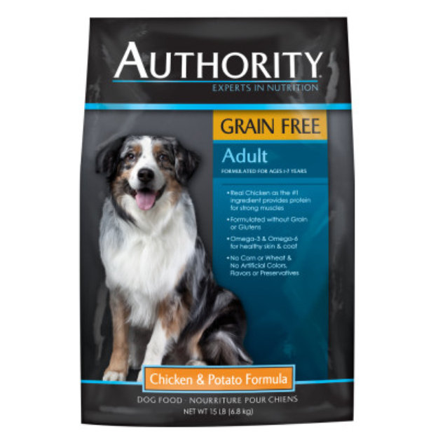 authority grain free dog food review rating recalls - 625×625