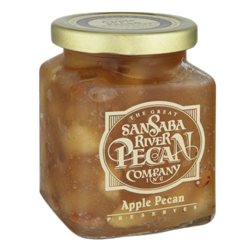 The Great San Saba River Pecan Company Apple Pecan Preserves
