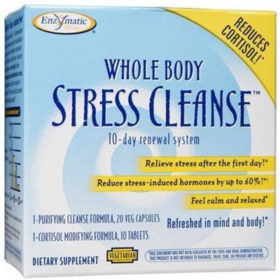 Whole Body Stress Cleanse (10-day Renewal System) Enzymatic Therapy Inc. 1 Kit