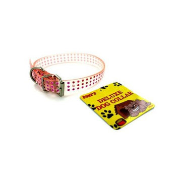 Bulk Buys Plastic dog collar -assorted colors - Pack of 48