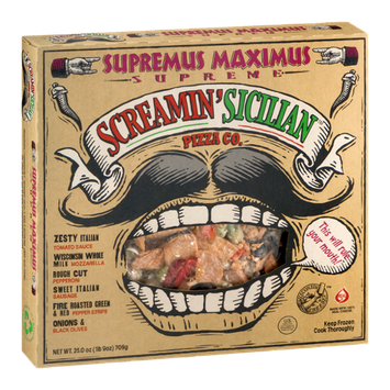 Screamin' Sicilian Pizza Co. Supreme Pizza Supremus Maximus