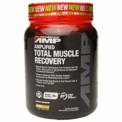 Gnc GNC Pro Performance AMP Amplified Total Muscle Recovery - Vanilla
