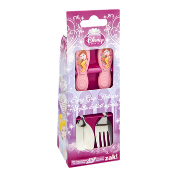 Zak Disney Princess Easy Grip Flatware