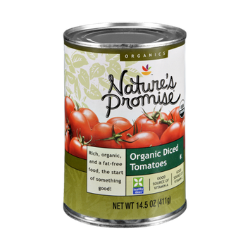 Ahold Nature's Promise Organics Organic Diced Tomatoes