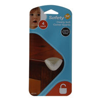 Safety 1st Clearly Soft Corner Guards, 4 ea
