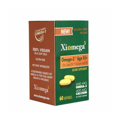 Xiomega3 Omega3 Chia Oil Age 45+ 60 softgels