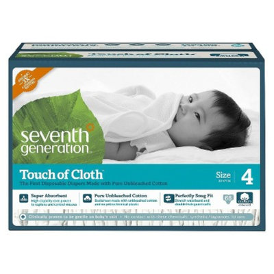 Seventh Generation Touch of Cloth™ Size 4 Baby Diapers