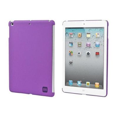 Monoprice PC Soft Touch Cover for iPad Air - Plum