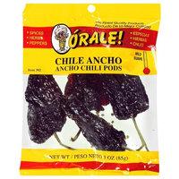Orale Mild Ancho Chili Pods, 3 oz