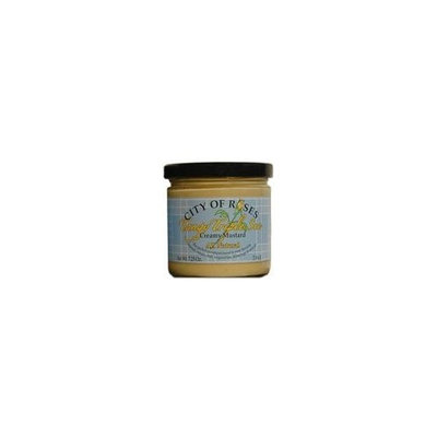 City of Roses All Natural Tangy Triple Sec Creamy Mustard 7.25 oz. Jar