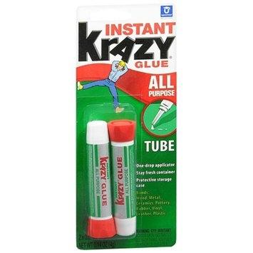 Krazy Glue All Purpose Glue Tubes 2 Pack