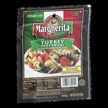 Margherita Turkey Pepperoni