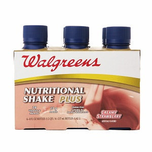 Walgreens Nutritional Shakes Plus 8oz 6 Pack