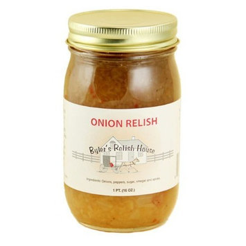 Byler's Relish House Homemade Amish Country Onion Relish 16 oz.
