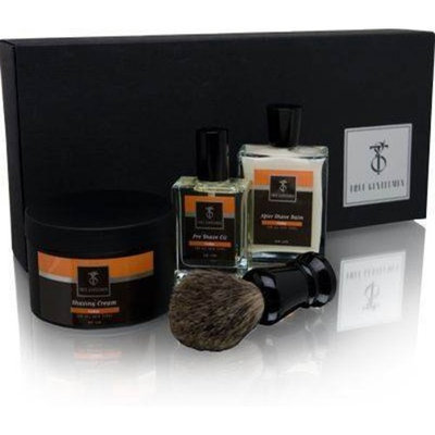 True Gentlemen Cedar A Gentlemen's Shave 4 Piece Set
