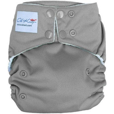 Oh Katy One Size Pocket Diaper, Berry (Discontinued by Manufacturer)
