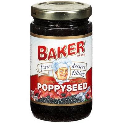 Baker Poppyseed Dessert Filling, 10 oz