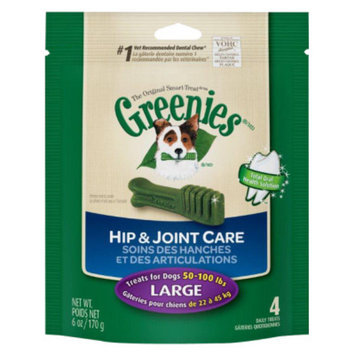 Greenies Hip & Joint Care Dental Chew, Large, 6 oz