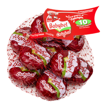 The Laughing Cow Mini Babybel Original Cheeses - 10 CT