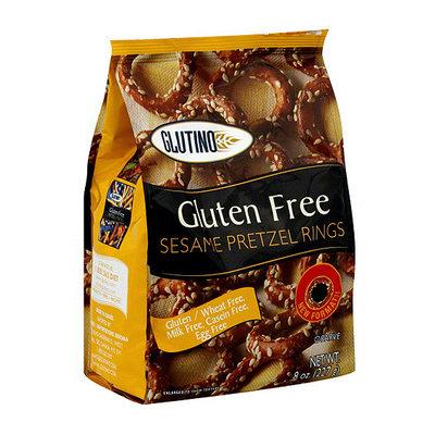 Glutino Sesame Pretzel Rings