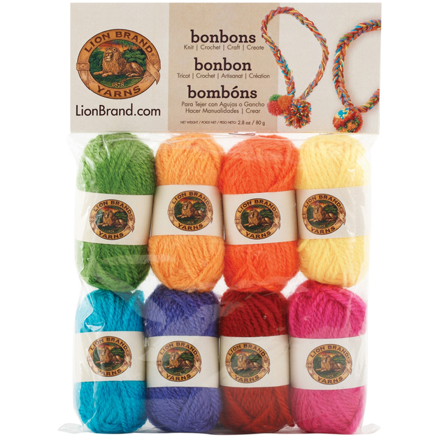 Orchard Yarn & Thread Co. Bonbons Yarn 8/Pkg Crayons