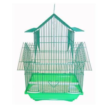 Yml Group YML Pagoda Flat Bird Cage Green