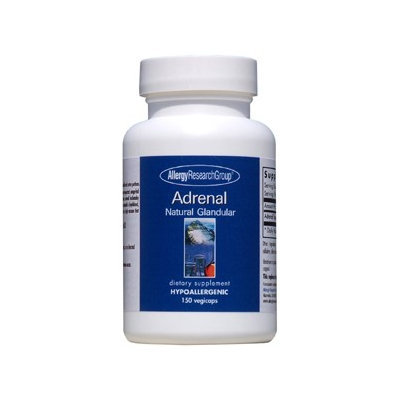 Allergy Research Group, Adrenal 100mg 150 vcaps