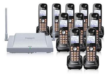 Panasonic BTS T0155-WT126(10pk) Business DECT Phone w/ Cell Station
