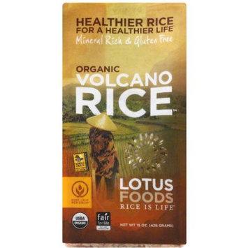 Lotus Foods Organic Volcano Rice, 15 oz, (Pack of 6)