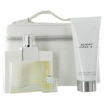 Always by Alfred Sung Set for Women: Eau De Parfum Spray 3.4oz