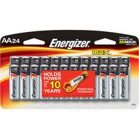 Energizer Max AA Batteries 24 Count (E91BP-24)