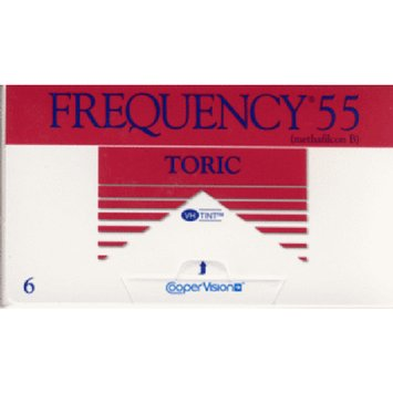 Frequency 55 Toric Contact Lenses 1 Box