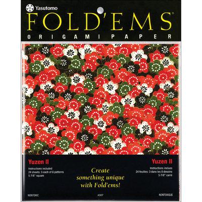 Yasutomo 4307 Fold 'Ems Origami Paper 5.875