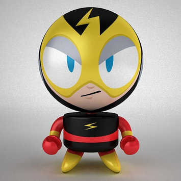 Interworks Bobble Budds Elec-Man Action Figure
