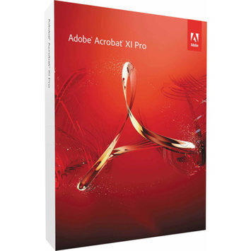Adobe Acrobat Pro 11 Student/Teacher's Edition (Academic verification is required by publisher after purchase) (Windows) (Digital Code)