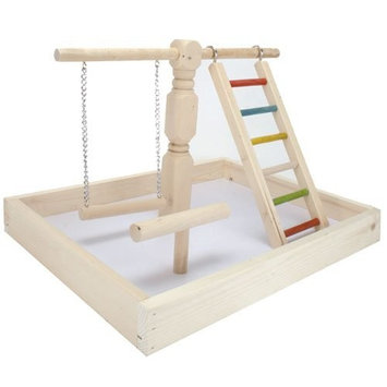 A&e Cage Wood Tabletop Play Station