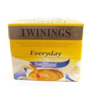 Twinings Everyday Decaffeinated 80 Teabags 250g