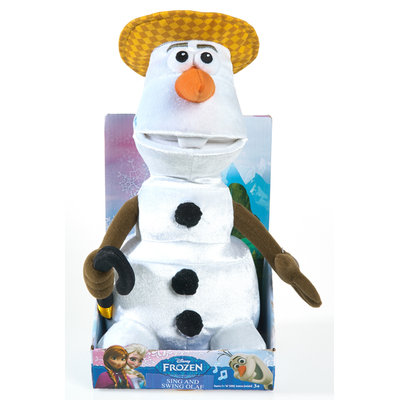 Just Play Disney Frozen Sing and Swing Olaf