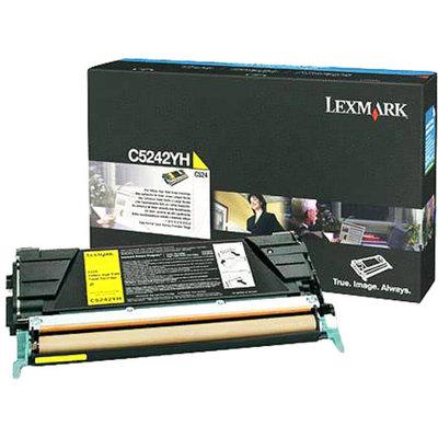 Lexmark C5242YH High-Yield Toner LEXC5242YH