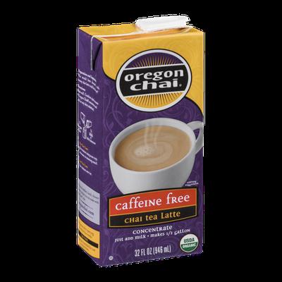 Oregon Chai Caffeine Free Chai Tea Latte Concentrate
