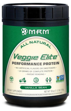 Mrm Metabolic Response Modifiers Veggie Elite Vanilla Bean MRM (Metabolic Response Modifiers) 1 lb Powder