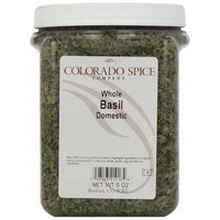 Colorado Spice Basil, Whole Domestic Large Cut, 6-Ounce Jars (Pack of 2)
