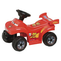 Pacific Cycle Disney Cars 2 6 Volt Quad Ride-On Car Red