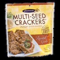 Crunchmaster Multi-Seed Crackers Roasted Garlic