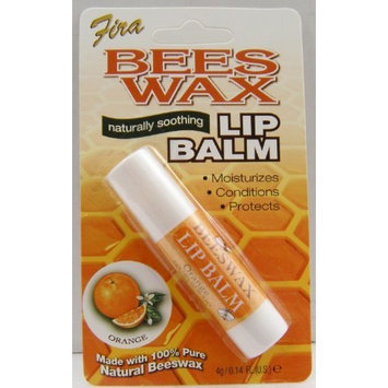 Fira Beeswax Naturally Soothing Lip Balm Orange