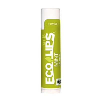 Eco Lips MintEcoCartonLipBalm.15oz ELP