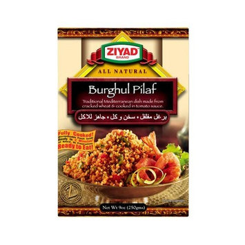 Ziyad Burghul Pilaf, 9-Ounce (Pack of 6)