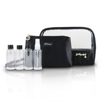Jacki Design ABC14023CH Royal Blossom 6Pc Travel Set Champagne